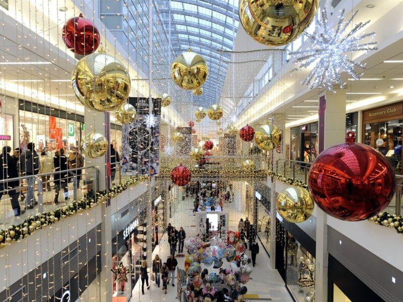 decoracion de centros comerciales