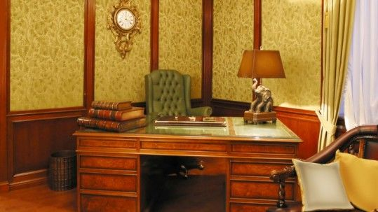 decoracion oficinas vintage