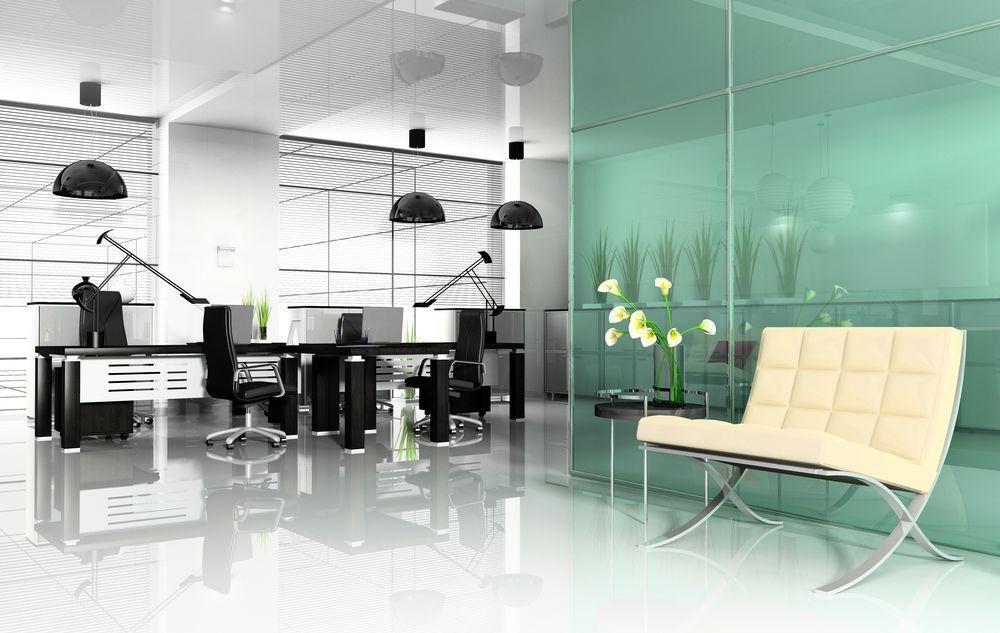 Te damos ejemplos de oficinas modernas para que decores la tuya dp plus producci n gr fica for Imagenes oficinas modernas