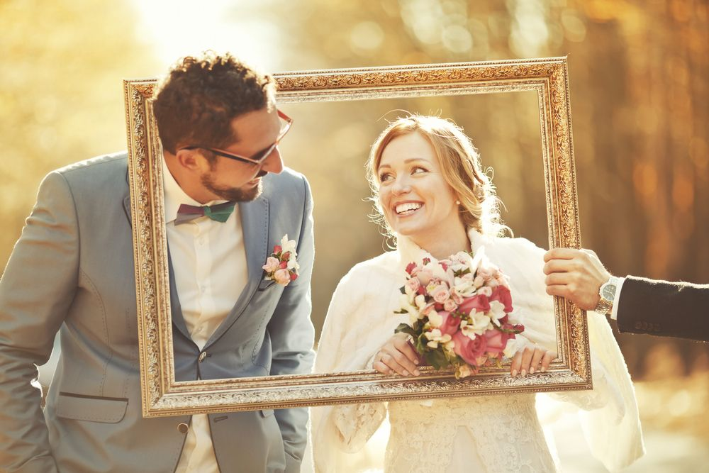 photocall para una boda