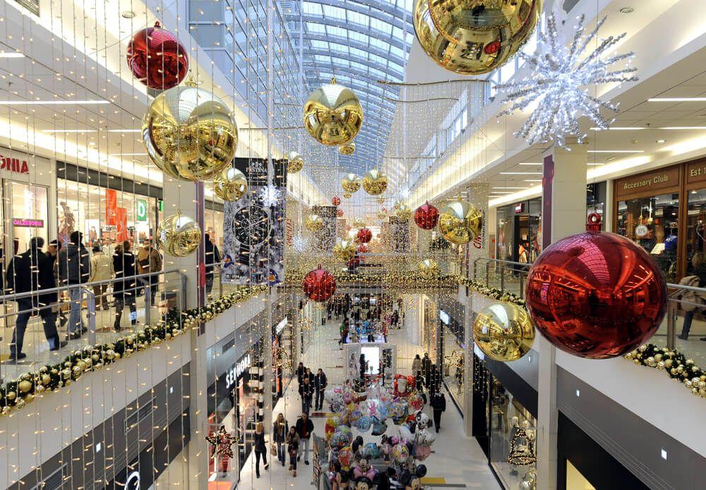 decoración escaparates navidad