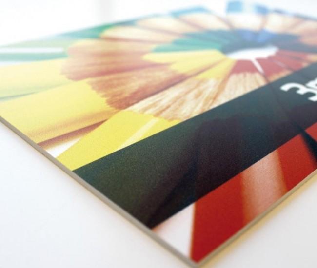 Impresión cartón pluma