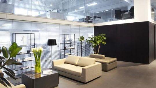 estilos de decoración de oficinas