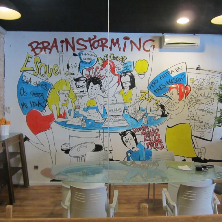 decoración de oficinas DP Plus