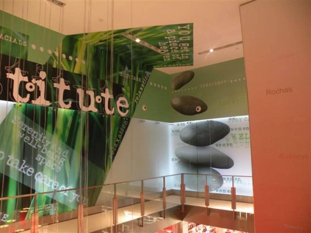 publicidad y decoracion centros comerciales españa
