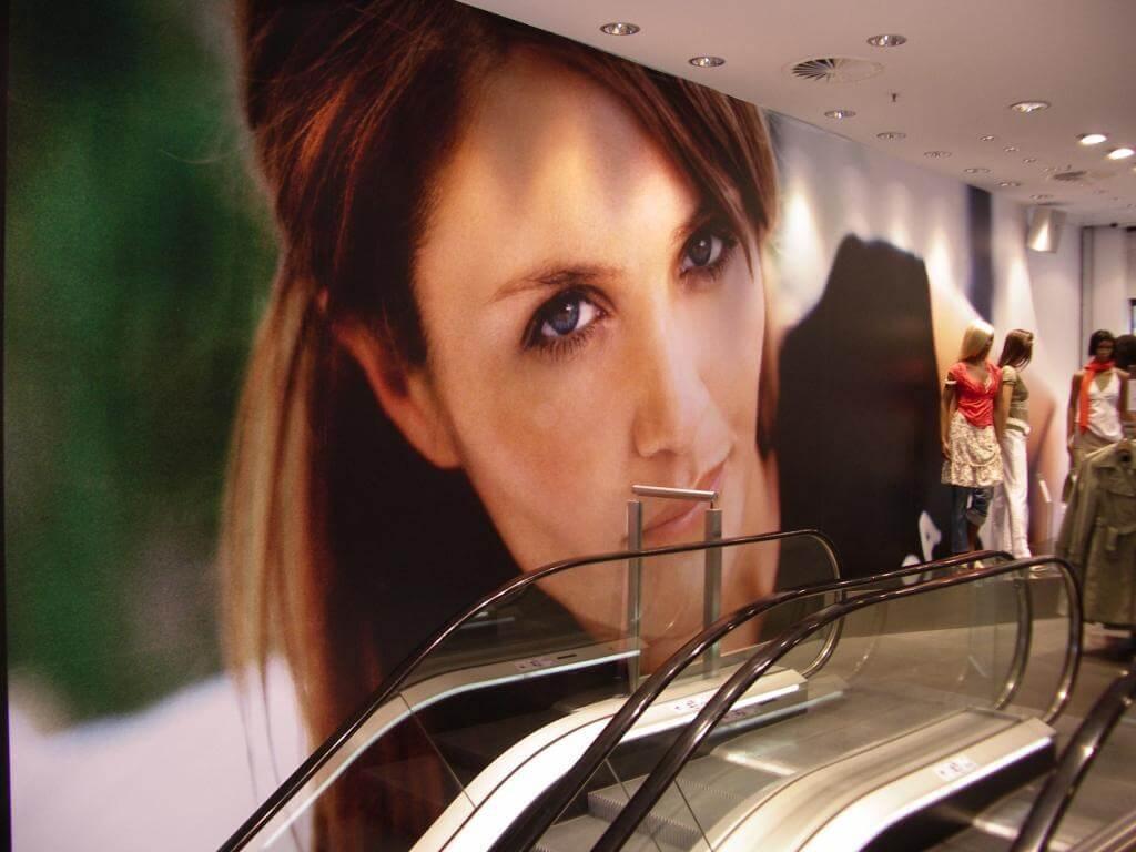 decoracion centros comerciales madrid