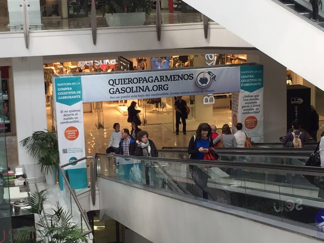 empresa decoracion carteles publicitarios en centros comerciales